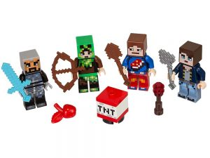 LEGO® MINECRAFT Products Skin Pack 1 853609