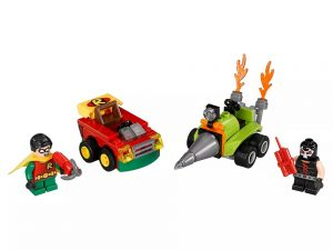 LEGO® Super Heroes Mighty Micros: Robin™ vs. Bane™ 76062