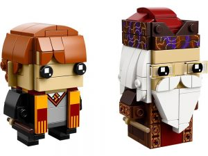LEGO Brickheadz Products Ron Weasley™ & Albus Dumbledore™ - 41621