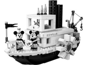 LEGO Ideas - 21317 Steamboat Willie