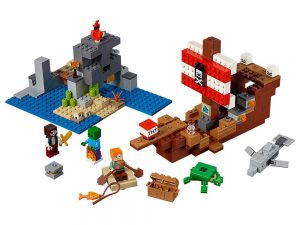 LEGO® MINECRAFT Products The Pirate Ship Adventure 21152
