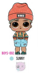L.O.L. Surprise! Boys Series 1 - BOYS-002 Sunny