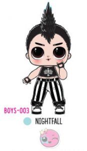 L.O.L. Surprise! Boys Series 1 - BOYS-003 Nightfall