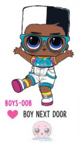 L.O.L. Surprise! Boys Series 1 - BOYS-008 Boy Next Door