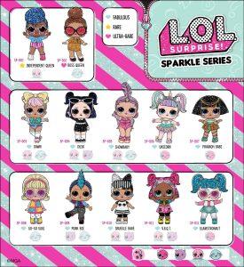 LOL Surprise Sparkle Series Collector Guide List Checklist Insert