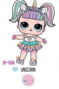 L.O.L. Surprise! Sparkle Series – SP-006 Unicorn