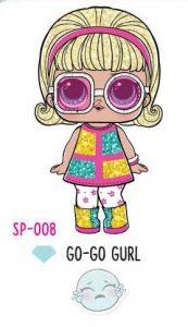 L.O.L. Surprise! Sparkle Series – SP-008 Go-Go Gurl