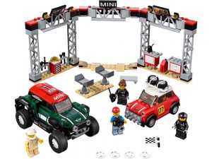 LEGO® Speed Champions Products 1967 Mini Cooper S Rally and 2018 MINI John Cooper Works Buggy - 75894