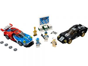 LEGO® Speed Champions Products 2016 Ford GT & 1966 Ford GT40 - 75881