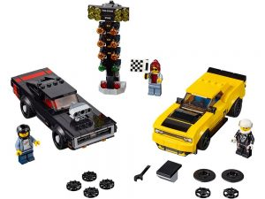 LEGO® Speed Champions Products 2018 Dodge Challenger SRT Demon and 1970 Dodge Charger R/T - 75893