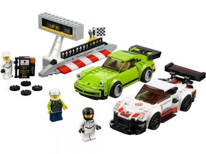 LEGO® Speed Champions Products Porsche 911 RSR and 911 Turbo 3.0 - 75888
