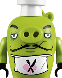 Lego Angry Birds Characters - Chef Pig