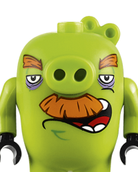 Lego Angry Birds Characters - Foreman Pig