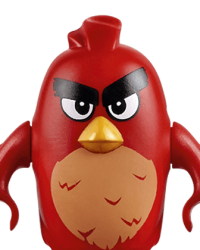 Lego Angry Birds Characters - Red
