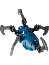 Lego Bionicle Characters - Blue Skull Spider