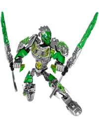 Lego Bionicle Characters - Lewa Uniter of Jungle