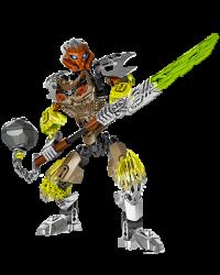 Lego Bionicle Characters - Pohatu Uniter of Stone