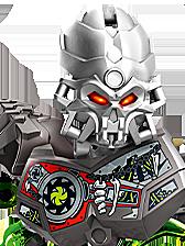 Lego Bionicle Characters - Skull Slicer