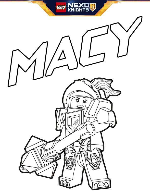 Knight Coloring Pages Coloring Pages Nexo Knight Coloring Pages ...   792x612