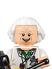 Lego Dimensions Characters Doc Brown