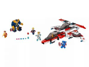 LEGO® Super Heroes Avenjet Space Mission 76049