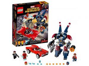 LEGO® Super Heroes Iron Man: Detroit Steel Strikes 76077