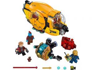 LEGO® Super Heroes Marvel Guardians of the Galaxy Ayesha's Revenge 76080