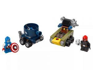 LEGO® Super Heroes Mighty Micros: Captain America vs. Red Skull 76065