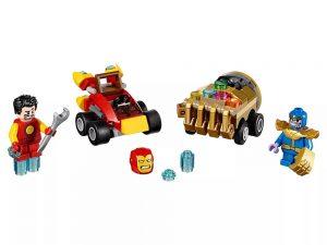 LEGO® Super Heroes Mighty Micros: Iron Man vs. Thanos 76072