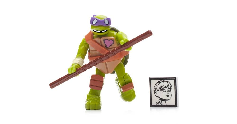 Teenagle Mutant Ninja Turtles Tmnt Blind Bag Microfigures