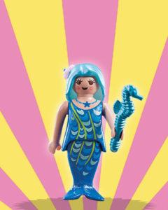 Playmobil Figures Series 5 Girls - Blue Mermaid