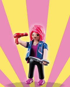 Playmobil Figures Series 5 Girls - Hairdresser