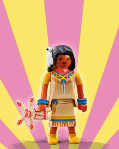Playmobil Figures Series 5 Girls - Indian Girl with Doll