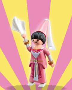 Playmobil Figures Series 5 Girls - Pink Damsel