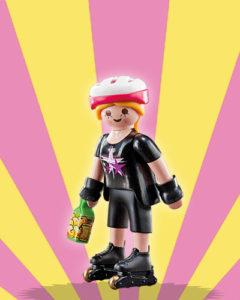 Playmobil Figures Series 5 Girls - Roller Skater