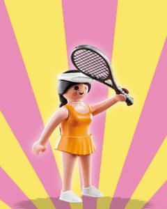 Playmobil Figures Series 5 Girls - Tennis Player