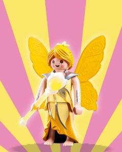 Playmobil Figures Series 5 Girls - Yellow Fairy
